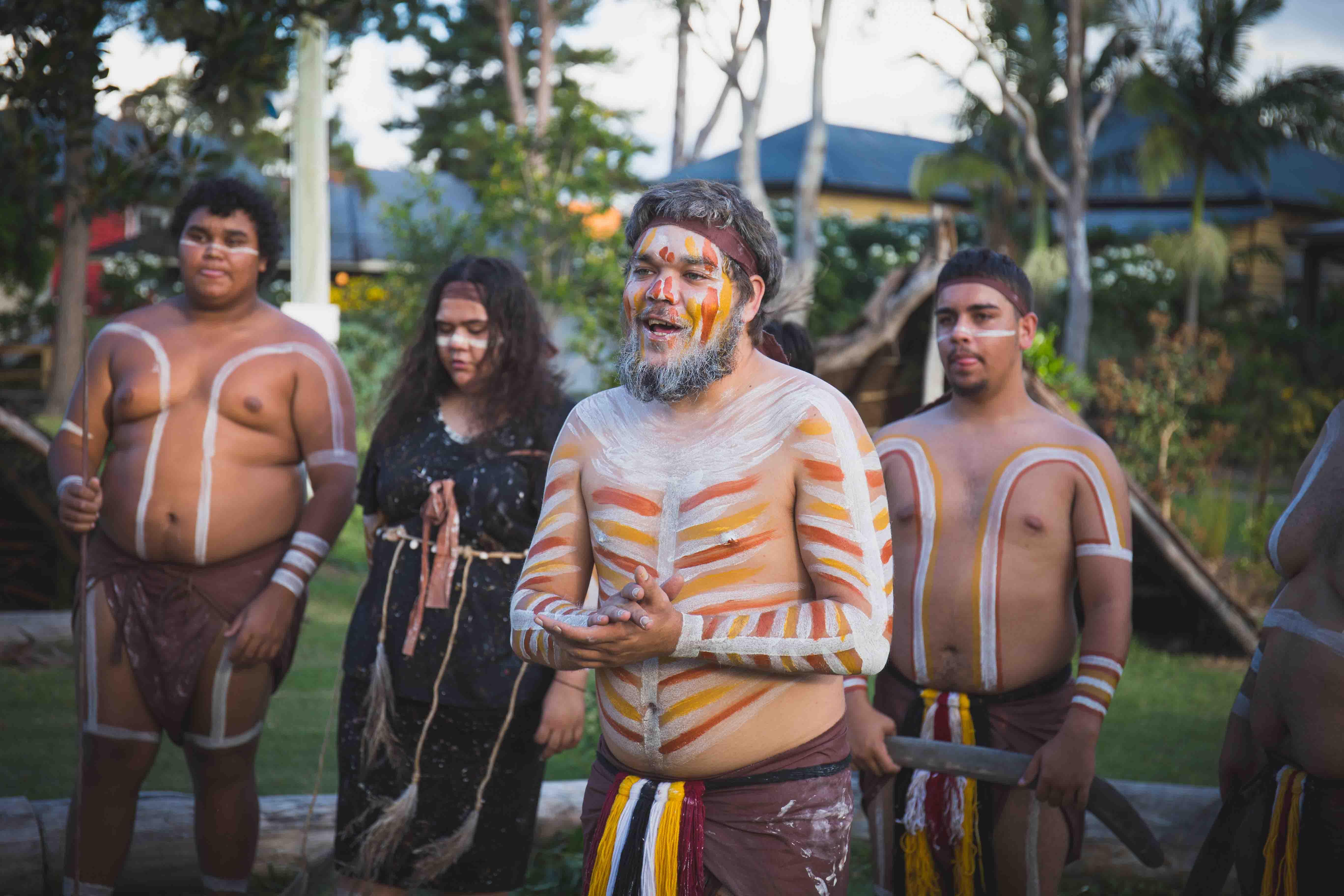 Spirits of the Red Sand Aboriginal Performance, Brisbane