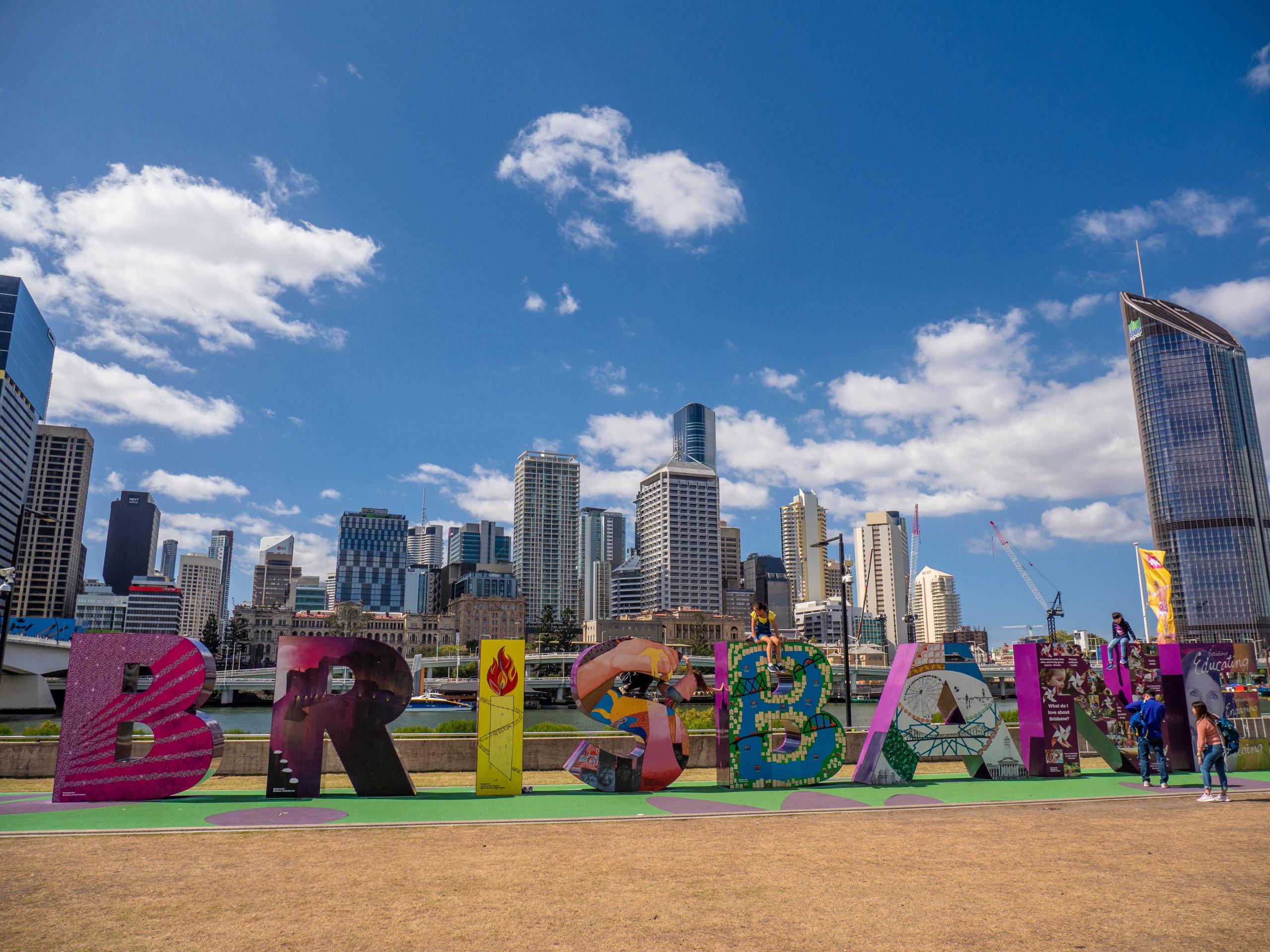 Brisbane sign, Queensland