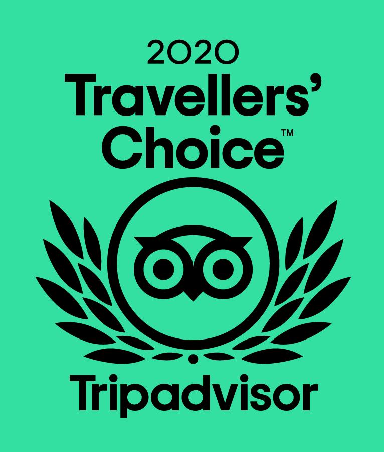 2020 Travellers Choice - Trip Advisor